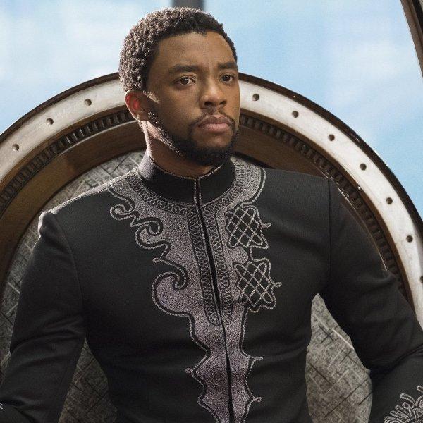 Chadwick Boseman King of Wakanda
