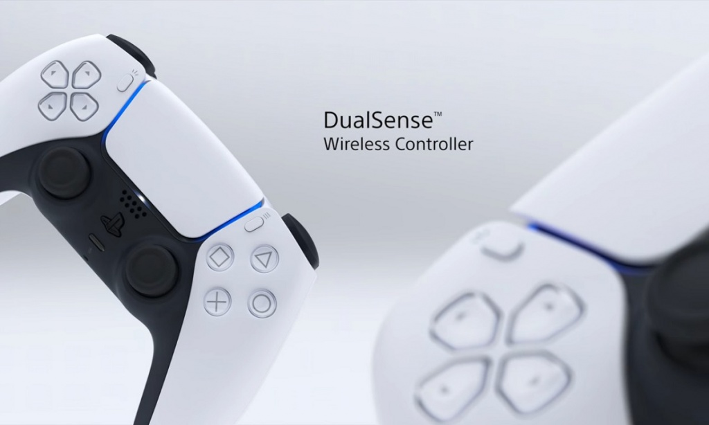 front ps5 controller