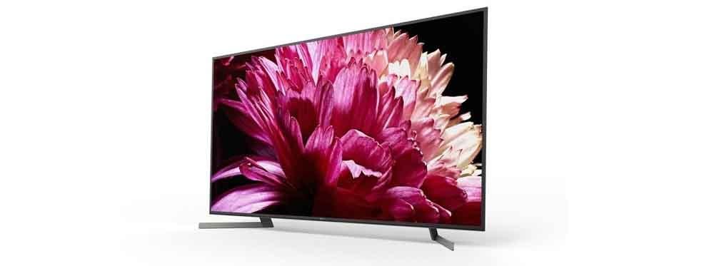 Front of Smart TV ony KD-55XG9505