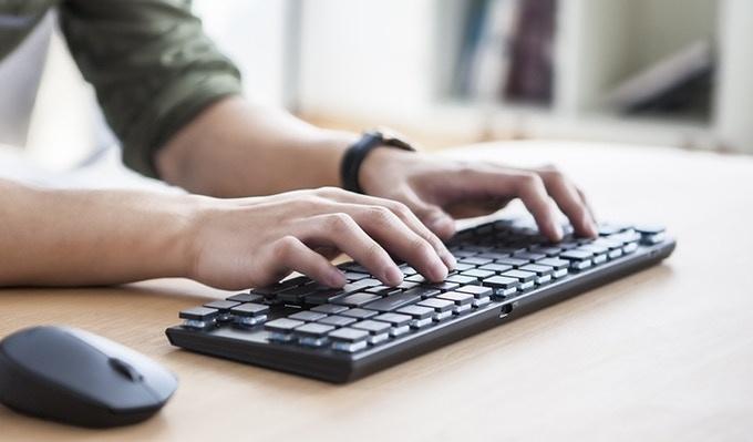 Keytron mechanical keyboard
