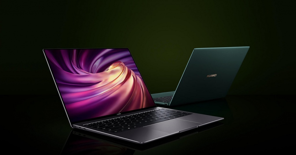 Promotional image of the Huawei Matebook X Pro