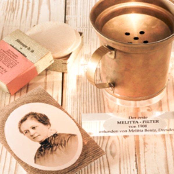 Melitta Bentz creator filters for coffee women