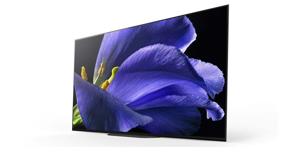 Side of the Smart TV Sony KD-65AG9