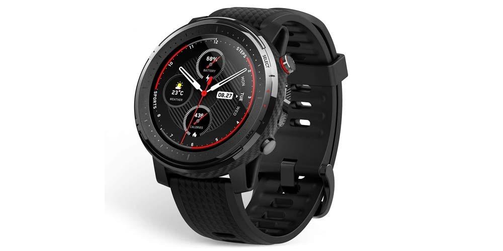 Amazfit Stratos 3 smartwatch front