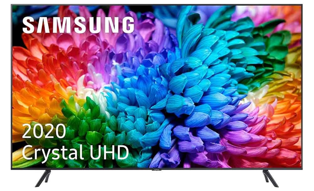 Smart TV 4K Samsung 50TU7105 front
