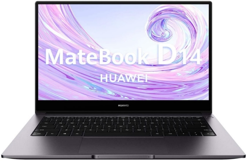 Huawei MateBook D14 from the front