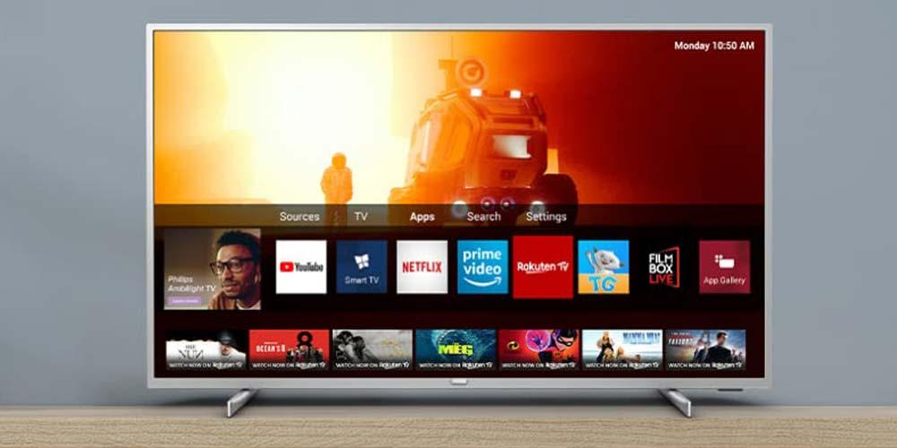 Philips 70PUS7555 / 12 4K Smart TV operating system