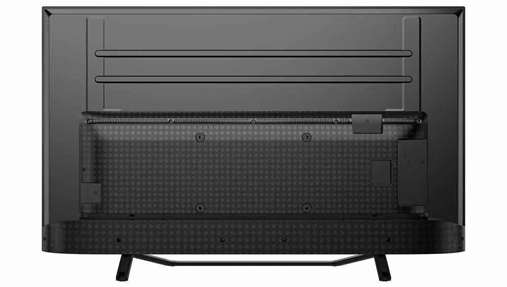 Rear of Hisense 50A7500F 4K Smart TV