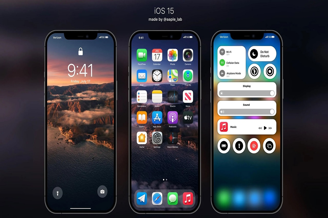 iOS-15-concept
