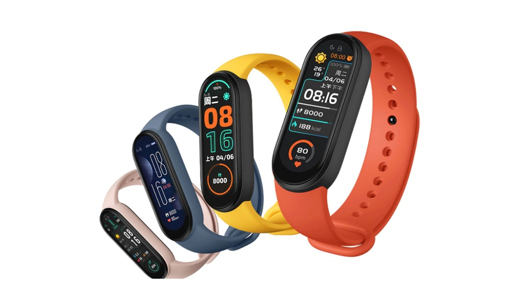 Smartband xiaomi mi band 6 colors
