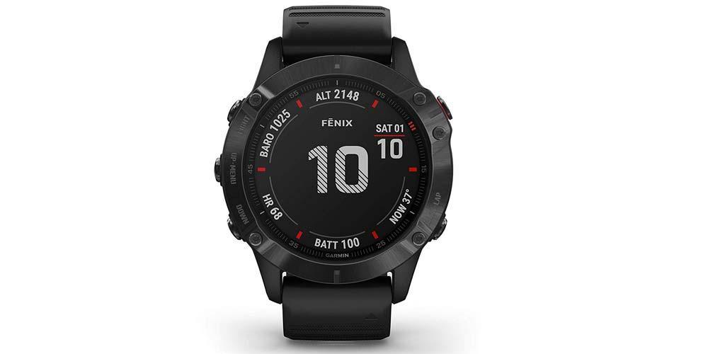 Garming Fenix 6 Pro smartwatch screen