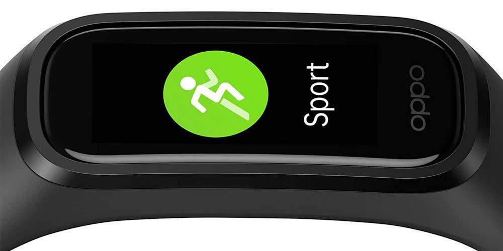 OPPO Band Sport smartband screen