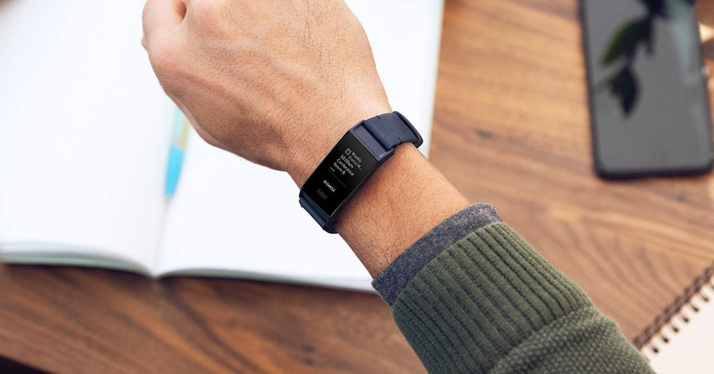 Using the Fitbit Charge 3 smartband