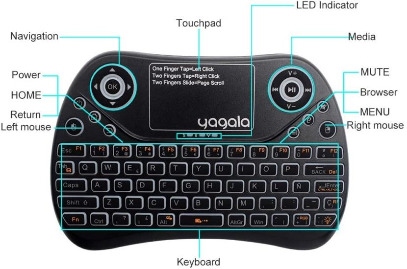 YAGALA Mini Keyboard