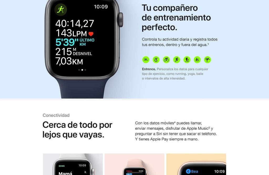 apple watch SE LTE