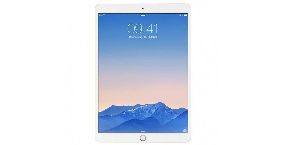Apple iPad tablet front