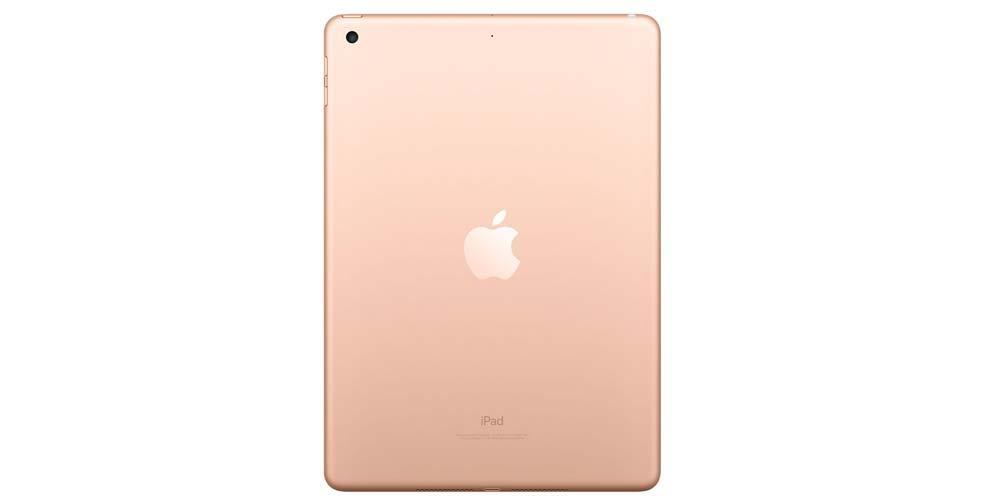 Back of Apple iPad tablet