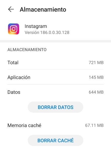 Force Stop, Clear Instagram Cache from Phone Settings