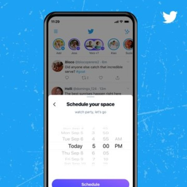 Twitter Spaces conferences, schedule time and day