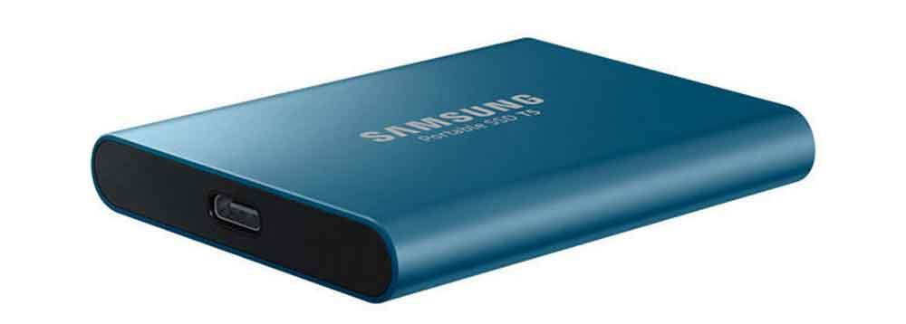 Samsung T5 SSD USb connection